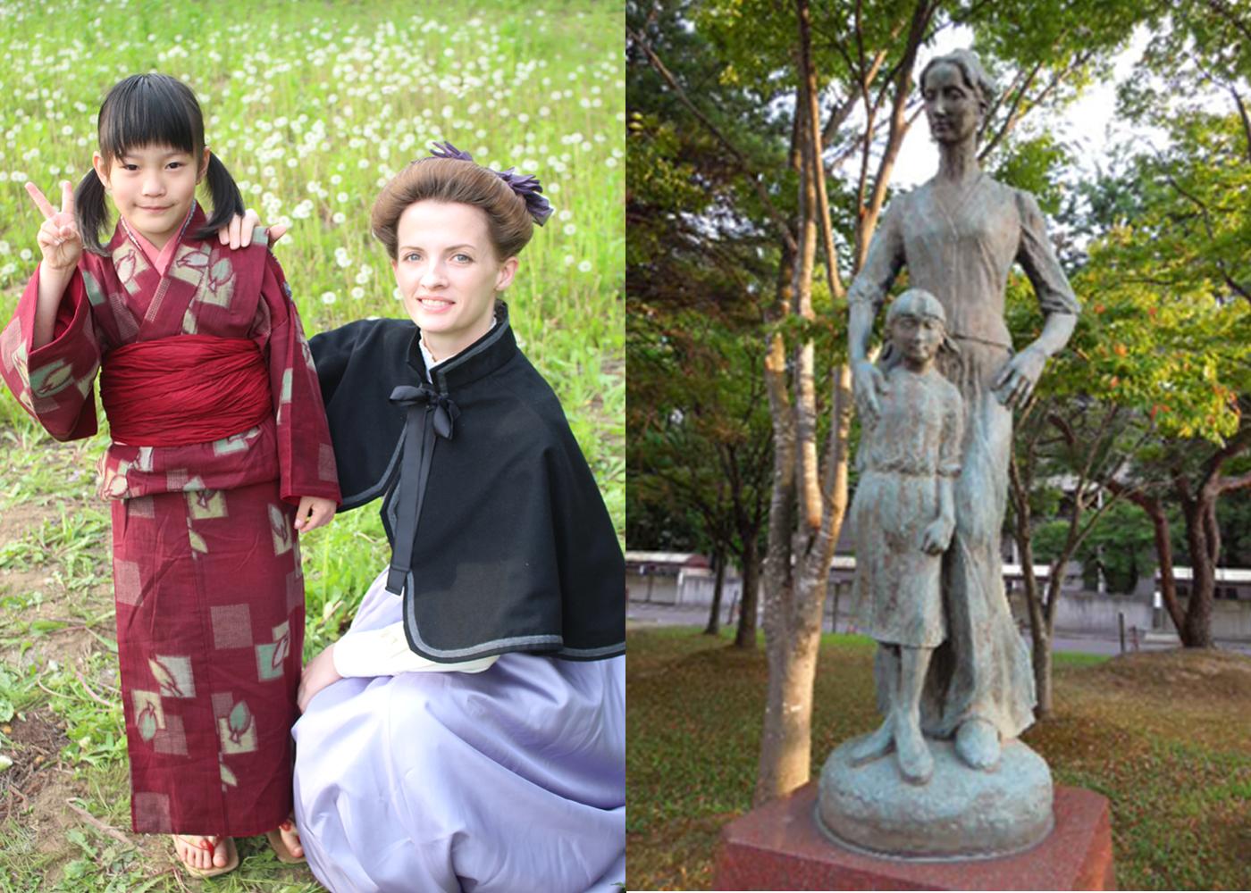 /data/project/580/赤い靴:宣教師と少女(銅像と人間).jpg